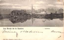 Landelies - Les Bords De La Sambre (péniche, 1900) - Montigny-le-Tilleul