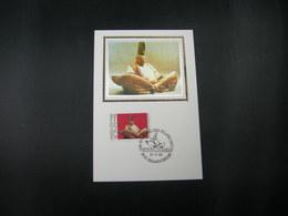 "BELG.1989 2336 FDC Maxicard Soie/zijde(Geraardsbergen)  :  ""Europalia '89"" - 1981-90"