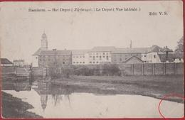 Hemixem Hemiksem Het Depot Zijvleugel Krijgsdepot Van St. Bernard Depot Armee Belge ZELDZAAM (kreukje) - Hemiksem