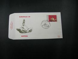 """BELG.1989 2336 FDC (Vielsalm)  :  """"Europalia '89"""" - 1981-90"""