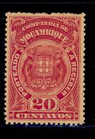 ! ! Mozambique Company - 1919 Postage Due Elephants 20 C - Af. P 39 - MH - Mozambique