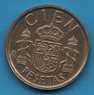 ESPANA 100 PESETAS 1984 KM# 826 Juan Carlos I - [ 5] 1949-… : Kingdom
