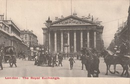Carte Postale Ancienne D'Angleterre - Lodon - The Royal Exchange - Londen
