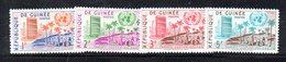 APR708 - GUINEA 1959 , Serie  Yvert N. 23/26  ***  MNH  (2380A)  ONU - Rifugiati