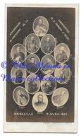 ANNECY 19 AVRIL 1865 ANNIVERSAIRE CANONISATION DE SAINT ST FRANCOIS DE SALES - CDV PHOTO PECCOUD - Photos