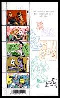 Belgium Belgie Belgique 2007 R MNH Block Cartoons Comics Strips BD Ever Meulen Journalist Writing Writers - Comics