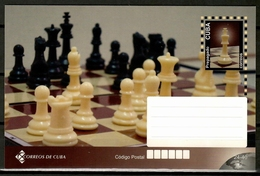 Cuba 2011 / Chess Postal Stationary Card MNH Ajedrez Tarjeta Postal Schach / Cu13237  35-41 - Ajedrez