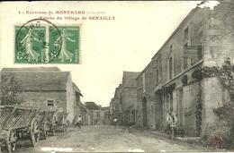 SENAILLY  -- Entrée Du Village                            -- Daloz 4 - Autres Communes