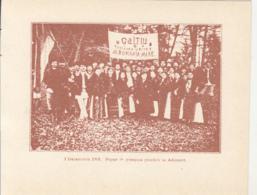 CPA ALBA IULIA- 1918 GREAT UNION, GROUP OF PEOPLE IN FOLKLORE COSTUMES - Romania