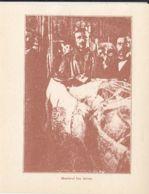 CPA ALBA IULIA- 1918 GREAT UNION, ION ARION'S FUNERAL - Romania
