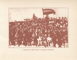 CPA ALBA IULIA- 1918 GREAT UNION, CROWD AT THE NATIONAL ASSEMBLY - Roumanie