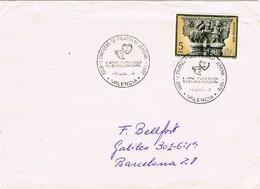 33640. Carta VALENCIA  1978. Simposium Filatelia Juvenil - 1931-Hoy: 2ª República - ... Juan Carlos I