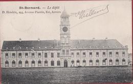 Hemixem Hemiksem Le Depot Krijgsdepot Van St. Bernard Belgisch Leger (In Zeer Goede Staat) - Hemiksem