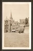PHOTO ORIGINALE GRANDE PLACE De TOURNAI STATUE De La PRINCESSE D'ESPINOY EGLISE SAINT QUENTIN - Lieux