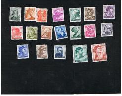 ITALIA REPUBBLICA -   UNIF. 899.917  - 1961 MICHELANGIOLESCA    - NUOVI ** (MINT) - 1961-70: Mint/hinged