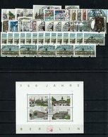 Berlin Michel Nr. 772 - 797 VS1+2 EST Gestempelt (Jahrgang 1987 Komplett Ohne C/D Mit ATM) - Used Stamps