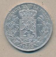 België/Belgique 5 Fr Leopold II 1873 Morin 160 (89327) - 09. 5 Francs