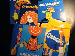VILLEMOT 12cartes Postales  ORANGINA - Werbepostkarten