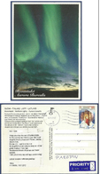 SUOMI FINLAND POSTAL USED AIRMAIL POSTCARD TO PAKISTAN  POST CARD WITH STAMP - Airmail