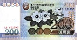 North Korea 200 Won, P-48 (2005) - UNC - Korea (Nord-)