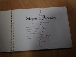 1 Album Photo De 1973 Dans Les Pyrénées,Gourette, Laruns...45 Photos Format 13/18 - Albums & Collections