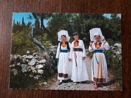 L21/1170 CROATIE . NARODNA NOŠNJA . HRVATSKA - Kroatië