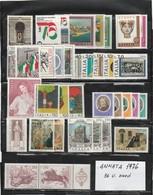 "FR.NU.0331 - REPUBBLICA 1976 - ""ANNATA COMPLETA"" 36 V. Nuovi** - 6. 1946-.. República"