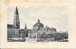 Rathaus Und Stadttheater. (Voir Commentaires) - Kiel