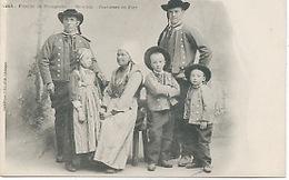 29 - Plougastel : Famille En Costumes De Fete. - Plougastel-Daoulas