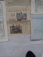 Radio M-J Offre De Prix, Schémas électriques, Vues, 1936 - Planches & Plans Techniques