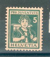 SUISSE ;  Pro Juventute ; 1916 ; Y&T N° 152 ; Neuf - Neufs