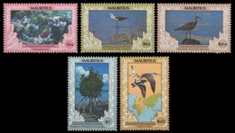 Mauritius 1990 - Mi-Nr. 714-718 ** - MNH - Fauna - Flora - Mauritius (1968-...)
