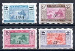 MAURITANIE - YT N° 53 à 56 - Neufs ** - MNH- Cote: 37,70 € - Mauritanie (1906-1944)