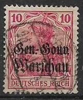 GERMANIA OCCUPAZIONE TEDESCA 1916-17  DELLA POLONIA  UNIF. 10  USATO VF - Occupazione 1914 – 18