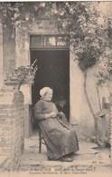 Carte Postale Ancienne Du Folklore Du Berry - Les Vieux Amis De Georges Sand - Paysanne Berrichonne, La Mère Chamblant - Bourges