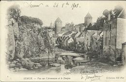 SAEMUR  -- Vue Sur L'Armançon Et Le Donjon                     -- N D - Saulieu