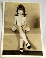 Vieille Photo, Old Photograph, Fotografía Antigua / Portrait D'une Jolie Fille, Portrait Of A Pretty Girl - Personas Anónimos