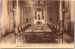 45 GIEN - Caisse D'épargne - Salle Du Conseil Des Directeurs - Gien