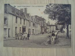 CP COUHE-VERAC 86 RUE DE LA REPUBLIQUE - Couhe