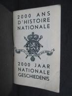 VP CAFE STORME (M1911) Brochure Des 500 Figurines (2 Vues) 2000 Ans D'histoire Nationale - Autres