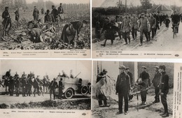 GUERRE14/18-ARMEE BELGE-ARTILLERIE-CAVALIERS-INFANTERIE-LOT DE 19 CARTES - Belgium