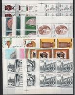 MESSICO   1980 -  Annata Quasi Cpl. 20v. In Quartine Nuovi** Perfetti - Messico