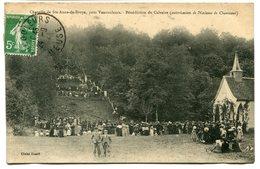 CPA - Carte Postale - France - Chapelle De Ste Anne De Broye - Bénédiction Du Calvaire - 1908 (I9663) - Altri Comuni