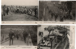 PRISONNIERS ALLEMANDS-CANONS ALLEMANDS-LOT DE 9 CARTES - War 1914-18