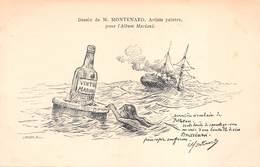 VIN  MARIANI - Dessin De M.MONTENARD - Publicité Collection MARIANI - Advertising