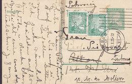 Germany Deutsches Reich Uprated Postal Stationery Ganzsache Entier Rheinland BADEN BADEN 1925 ALTORF Switzerland - Deutschland