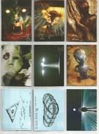 Série 1996 The X-Files  9 Cartes (1) - X-Files