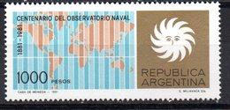 Sello  Nº 1258  Argentina - Nuovi