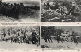 MITRAILLEUSES-CANONS-OBUS-LOT DE 10 CARTES- - Guerre 1914-18
