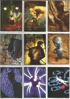 Série 1996 The X-Files  9 Cartes (5) - X-Files